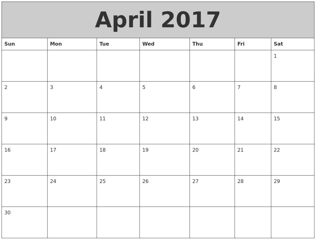 august 2017 printable calendars