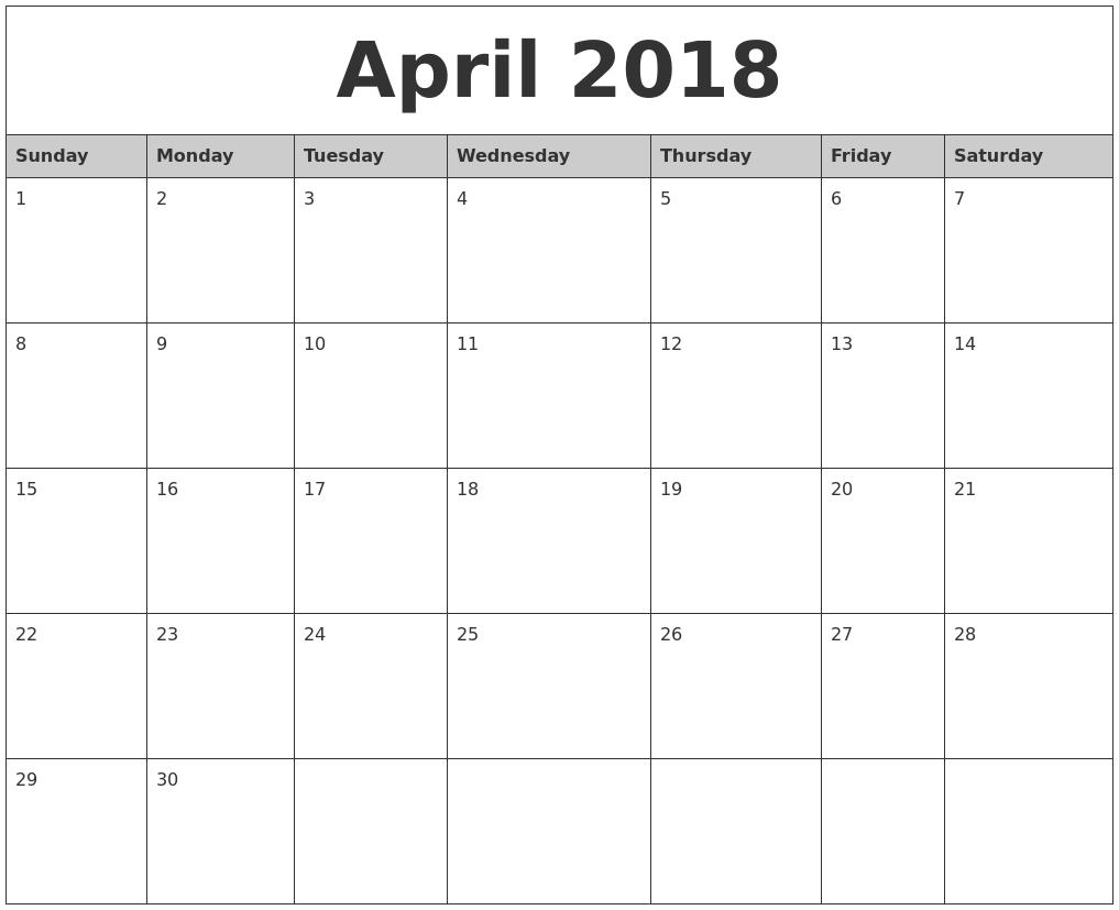 september 2018 monthly calendar blank us uk free printable pdf