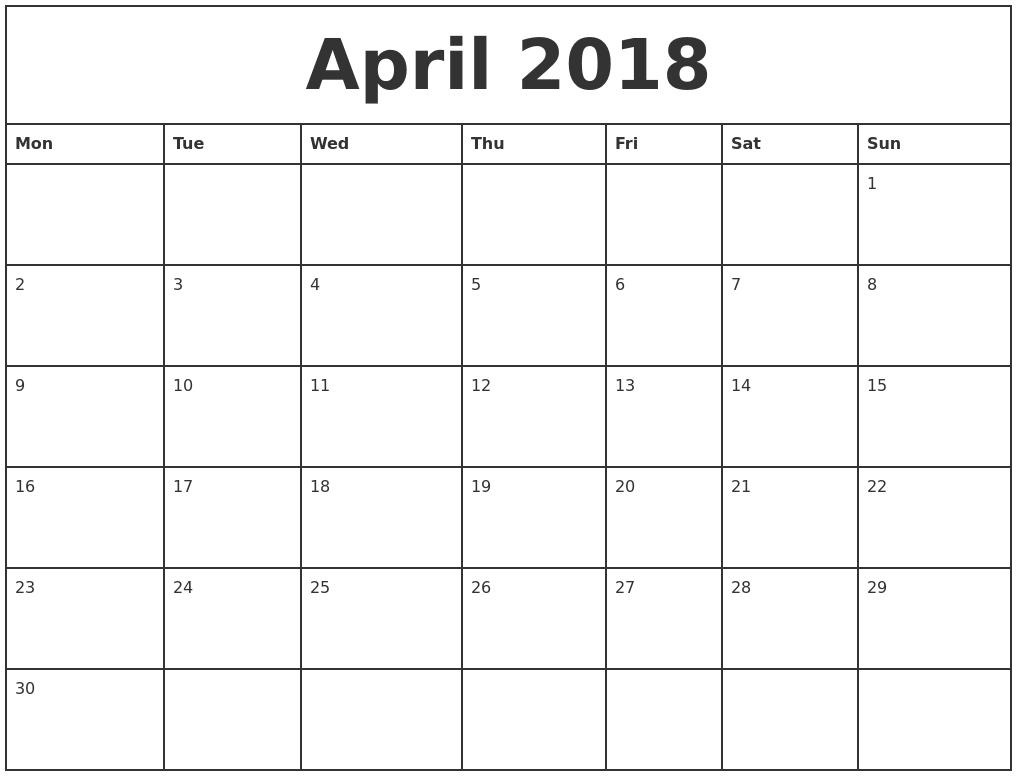 printable quarterly calendar 2018