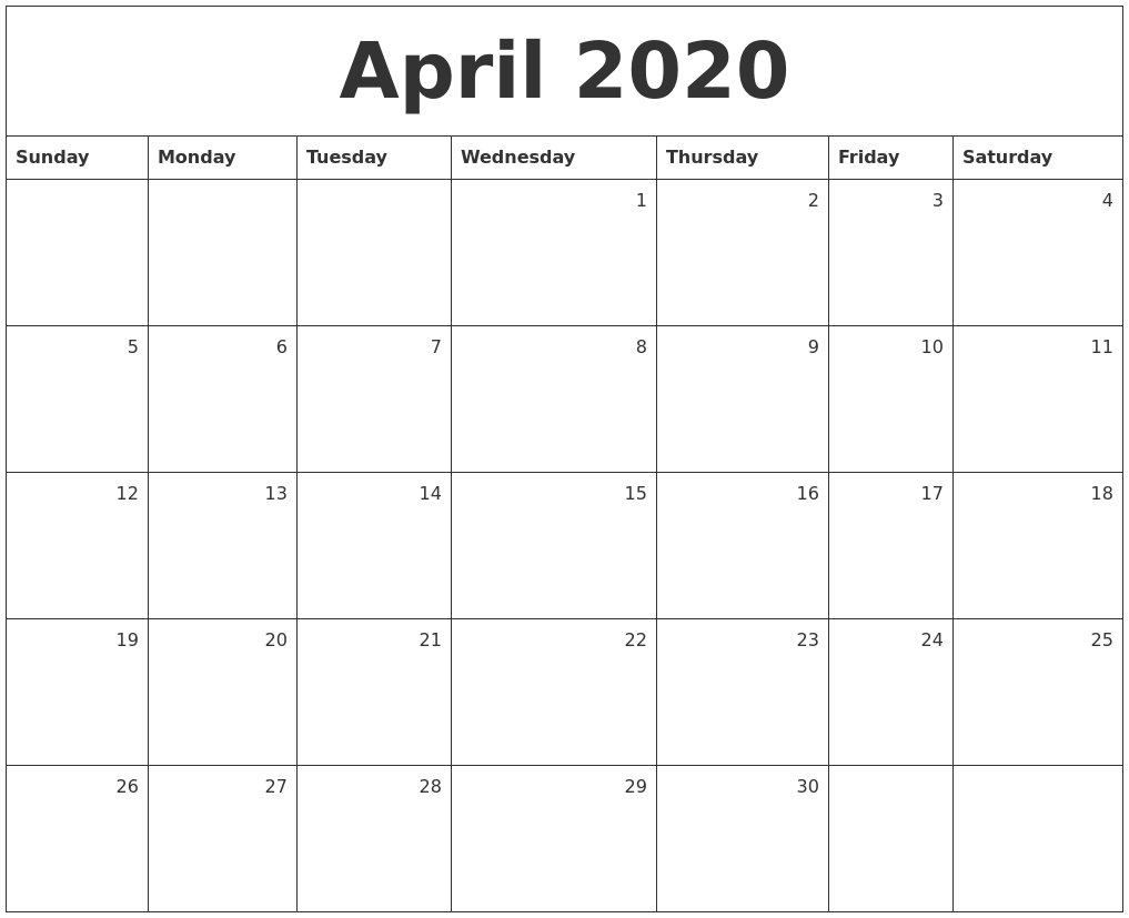 This is a picture of Inventive Printable April 2020