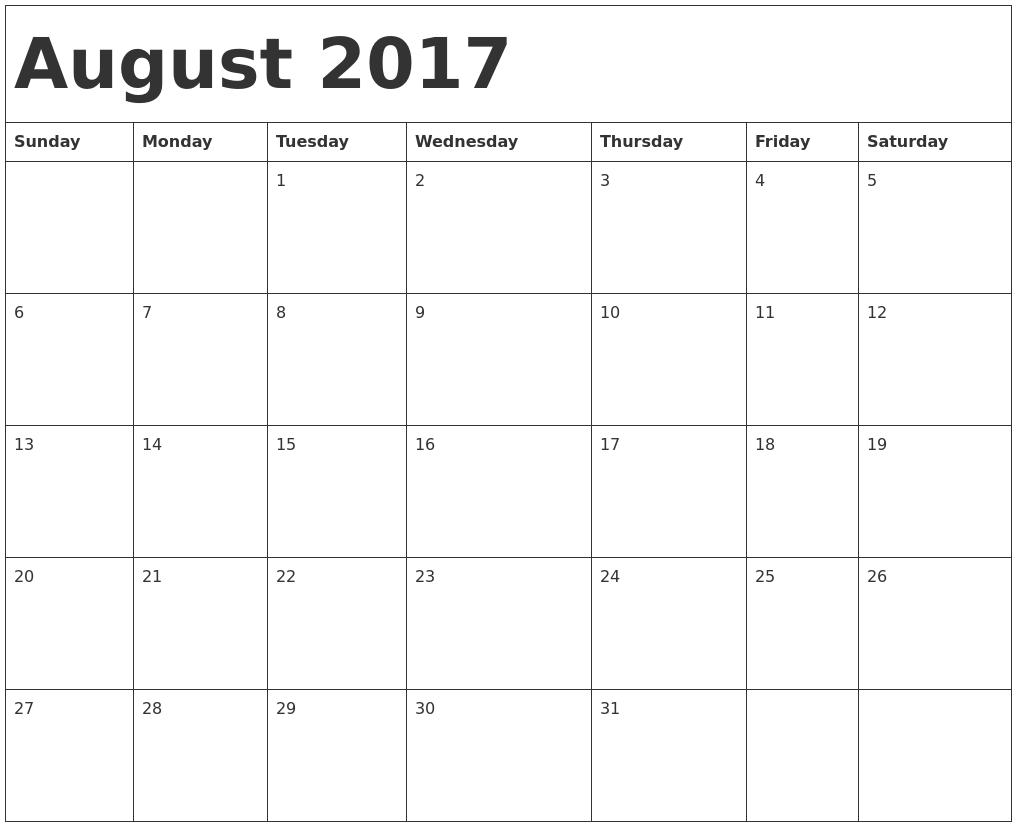 October 2017 Calendar Jpg