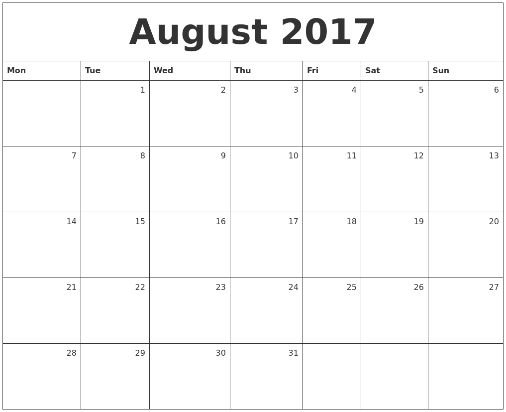 LIFE ENRICHMENT October 2017- CALENDAR SUNDAY MONDAY ...