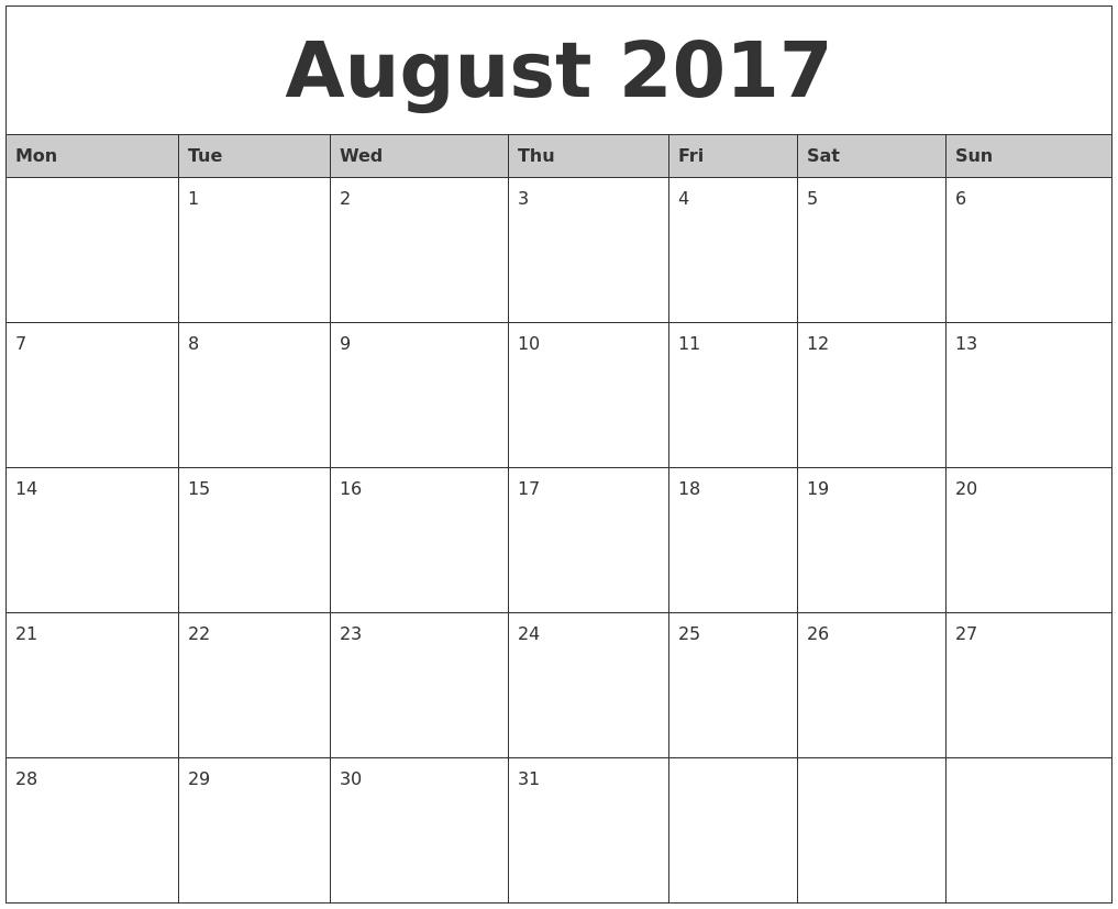 October 2017 - Calendar - Dayton Public Schools