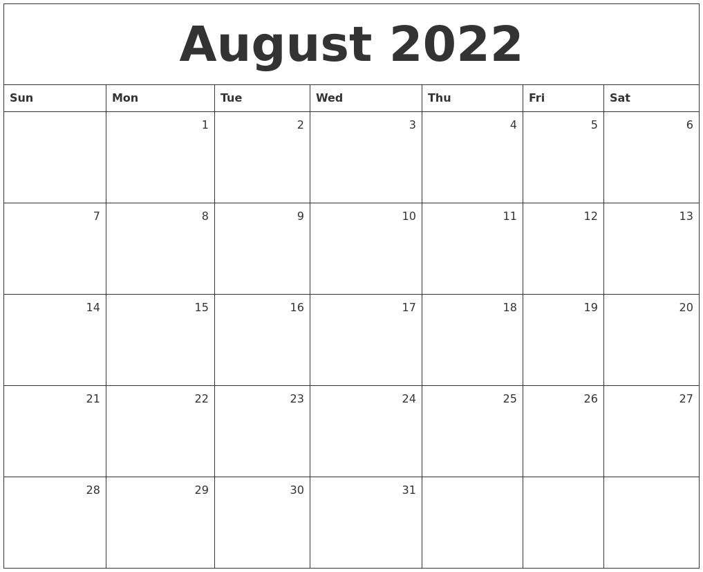 Calendar August September 2022.September 2022 Calendar Printable