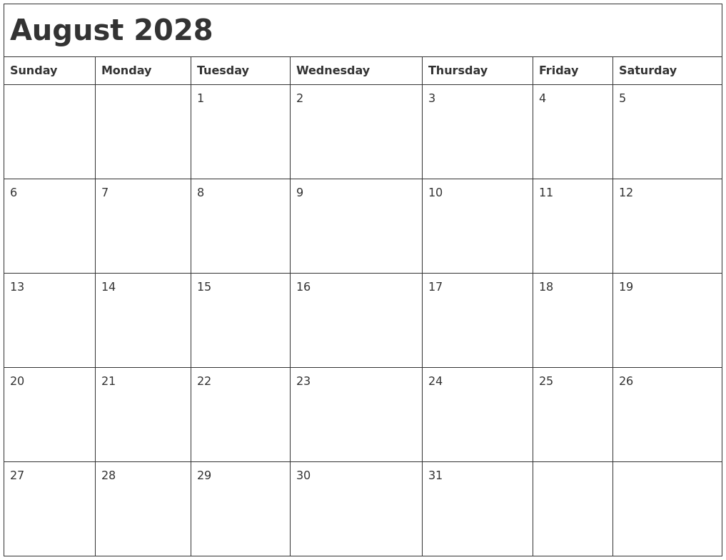 August 2028
