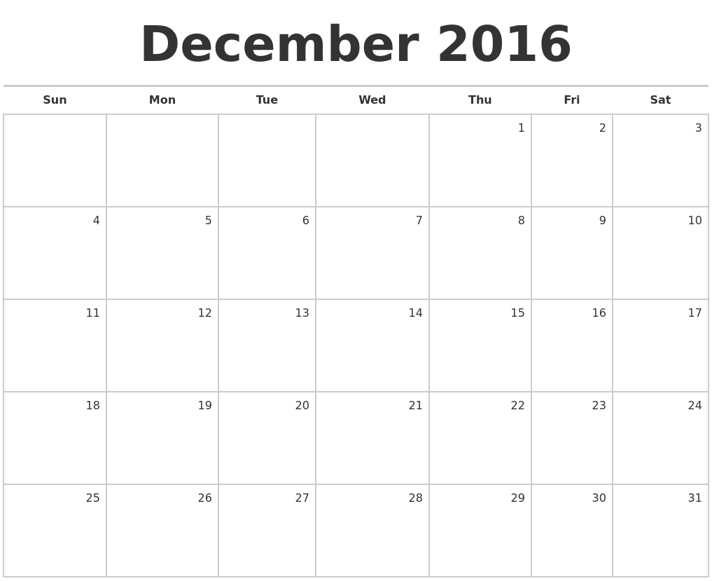 """Blank Monthly Calendar December : Search results for """"january calendar"""