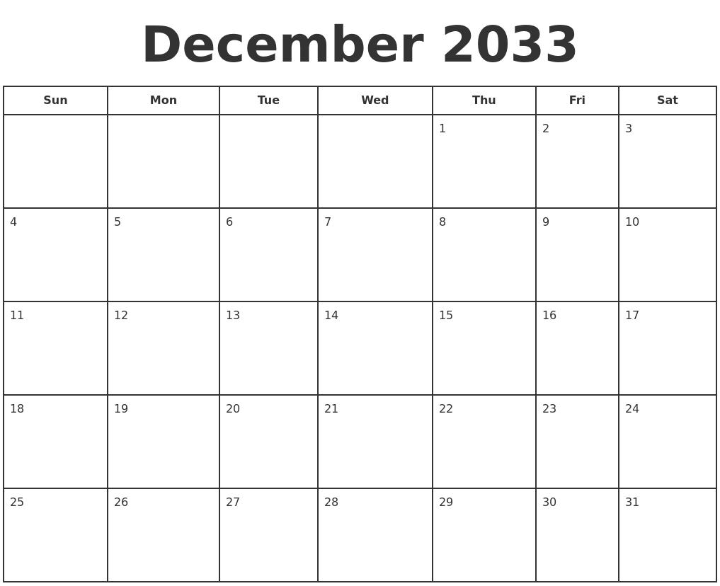 March 2034 Calendar Maker