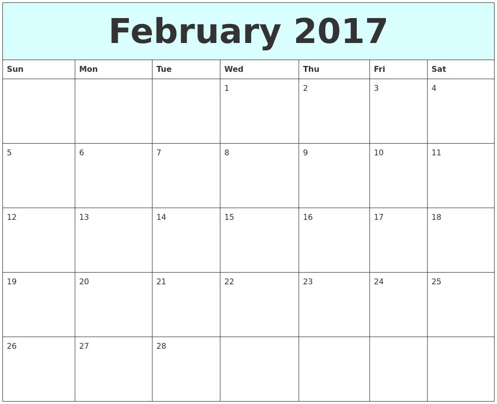 Calendar 2018 January February March April
