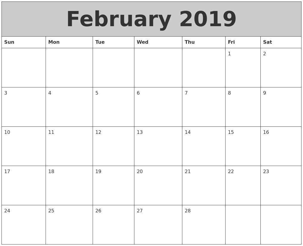 Calendar Typography Zoom : September printable calendar