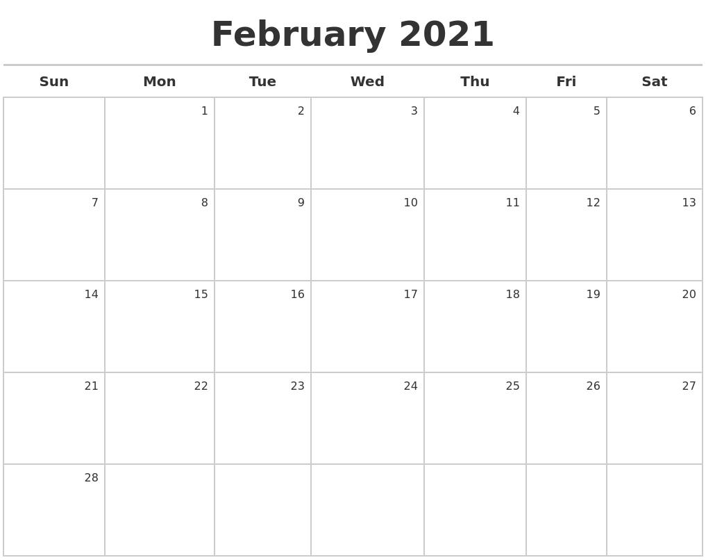 calendar template monthly 2017