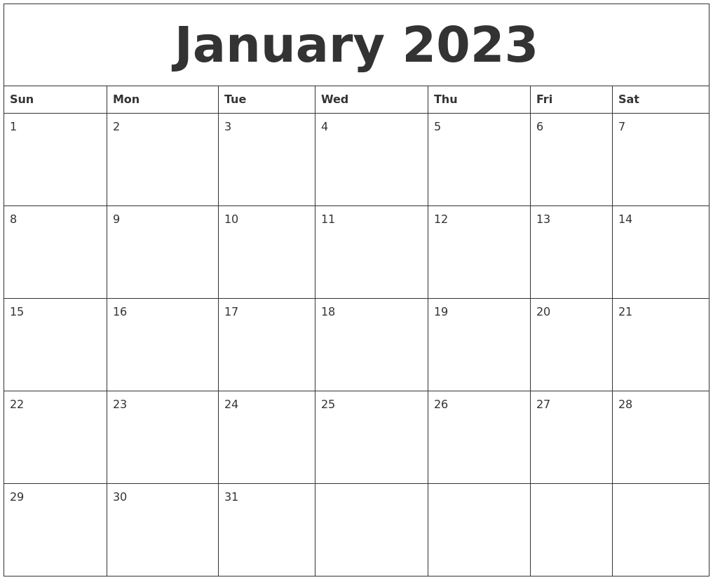 October 2022 Free Printable Calenders