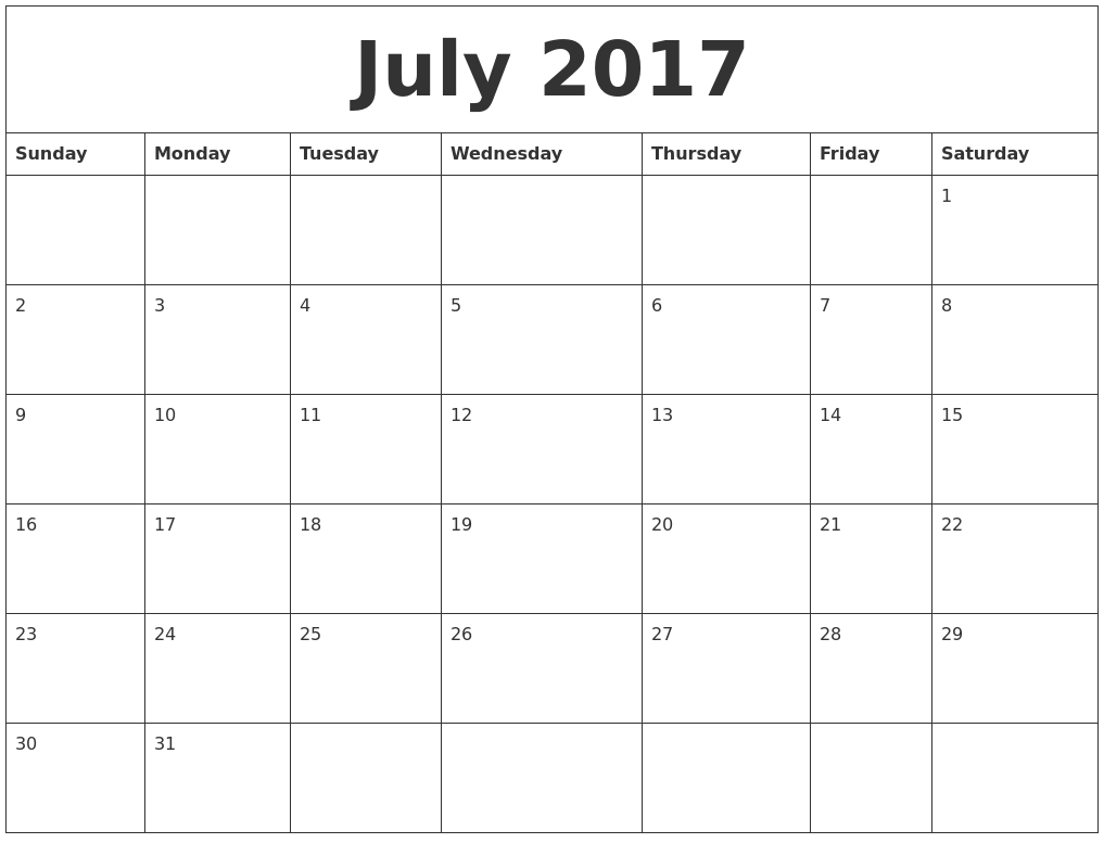 Calendar Design July : July create calendar