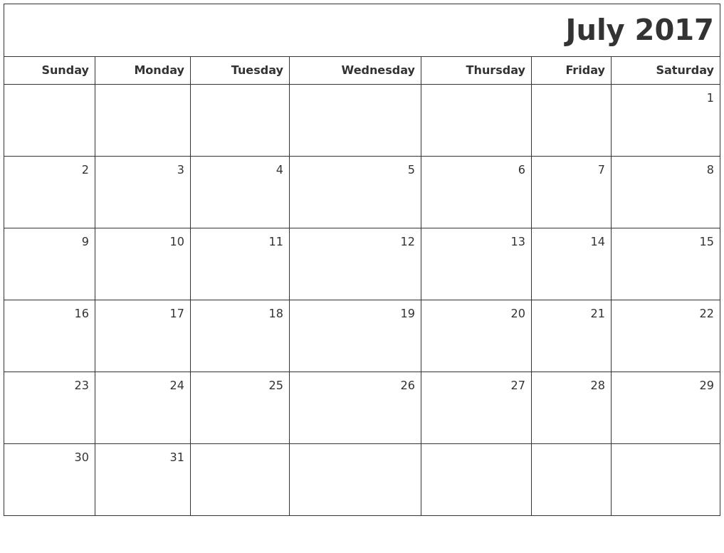 pdf blank 2017 box calendar