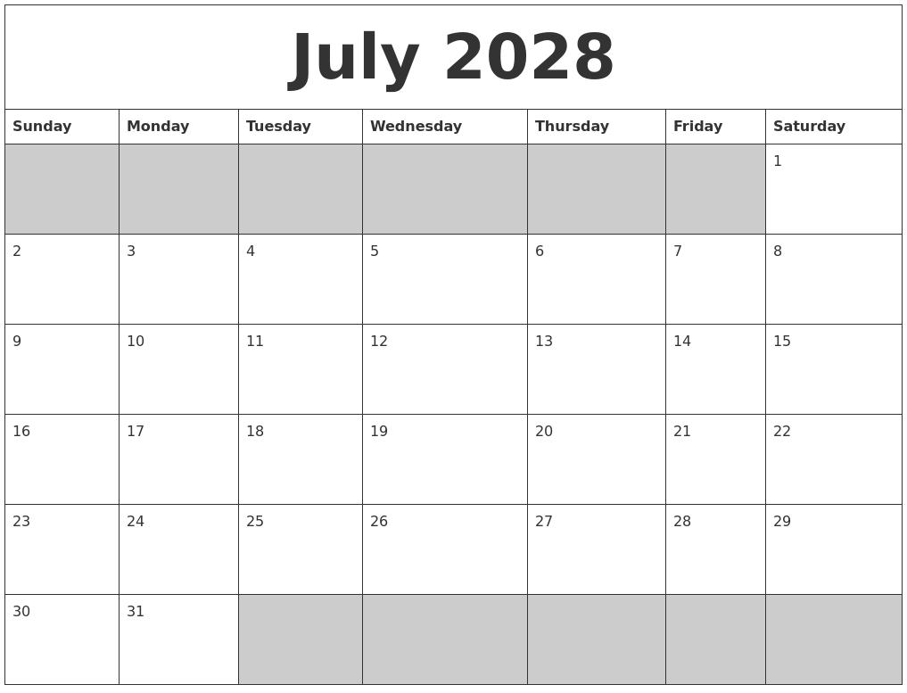 August 2018 Printable Calendar for Kids - Letter ...