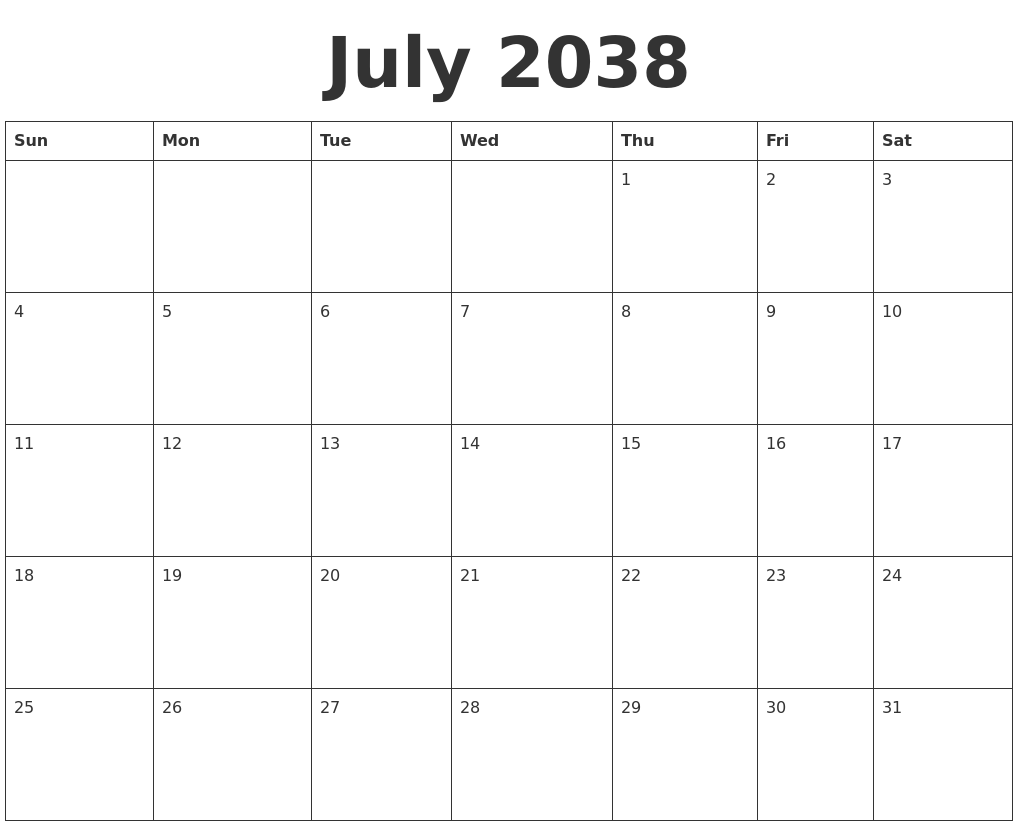 September 2037 Calendar