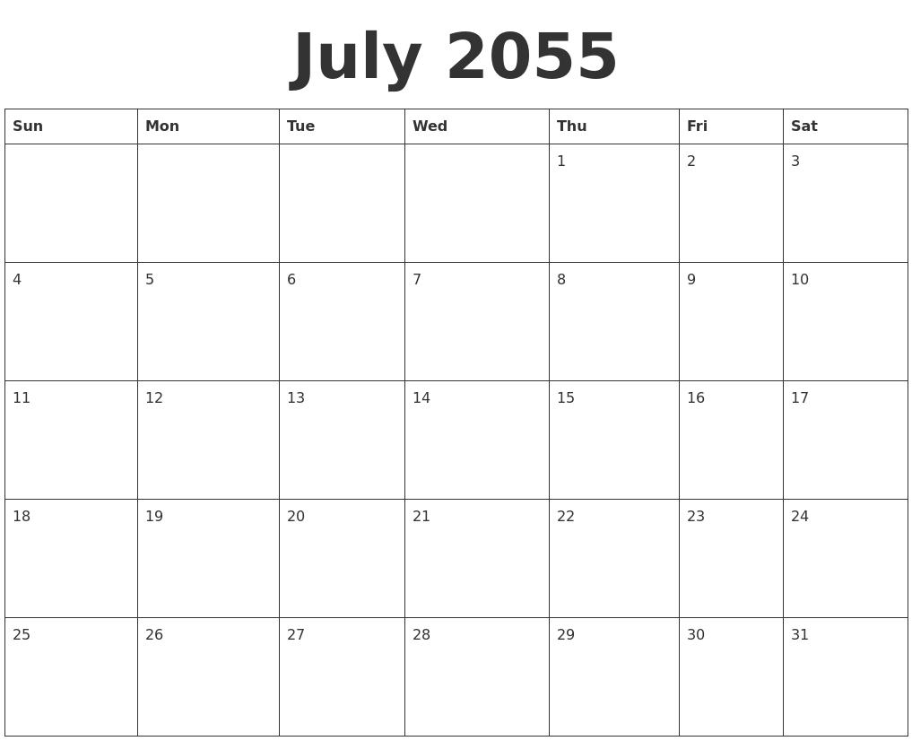 December 2054 Free Printable Calendar