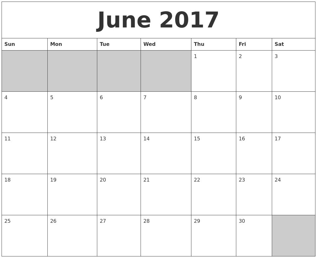 "Calendar Blank June : Search results for ""blank printable calendars calendar"