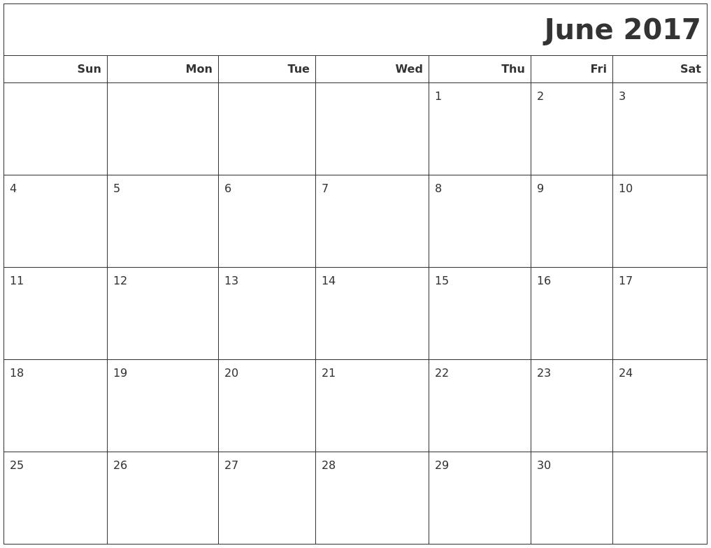 February 2017 Make A Calendar