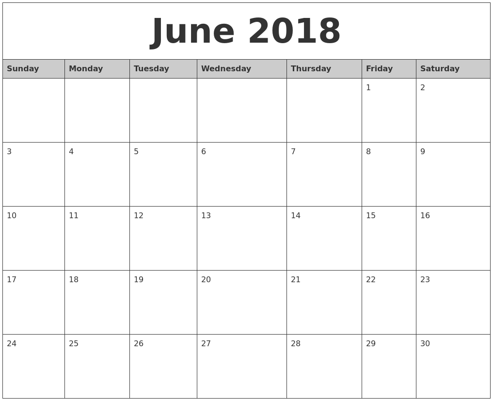 printable 2018 mini month calendar