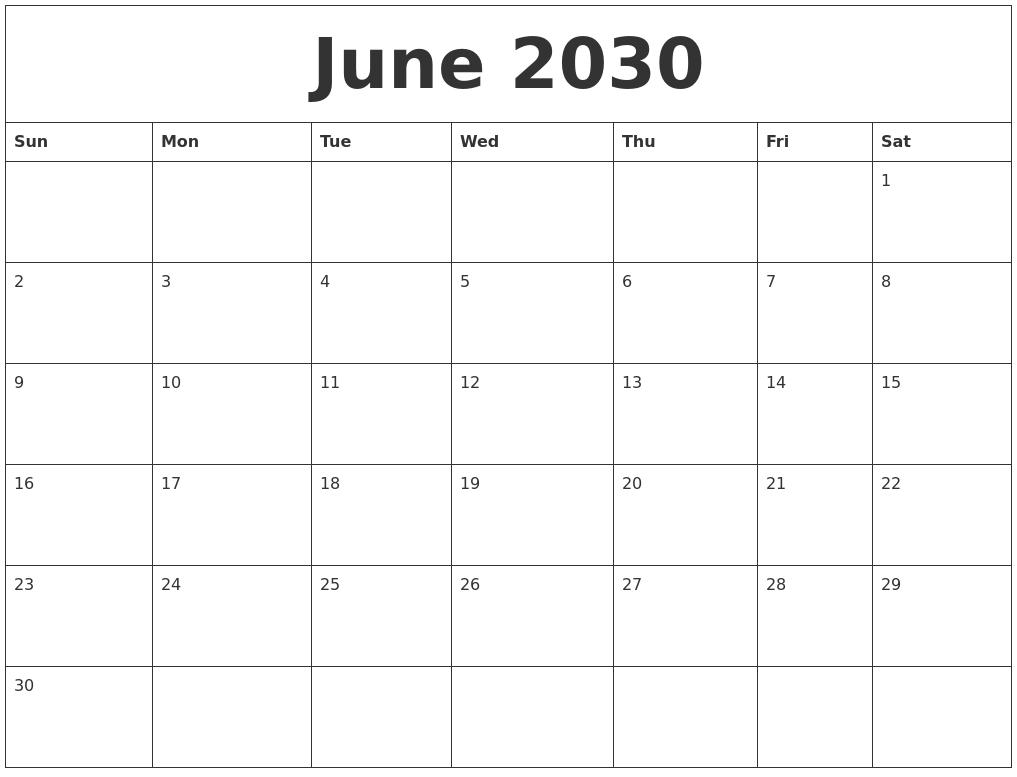 december 2030 free printable weekly calendar