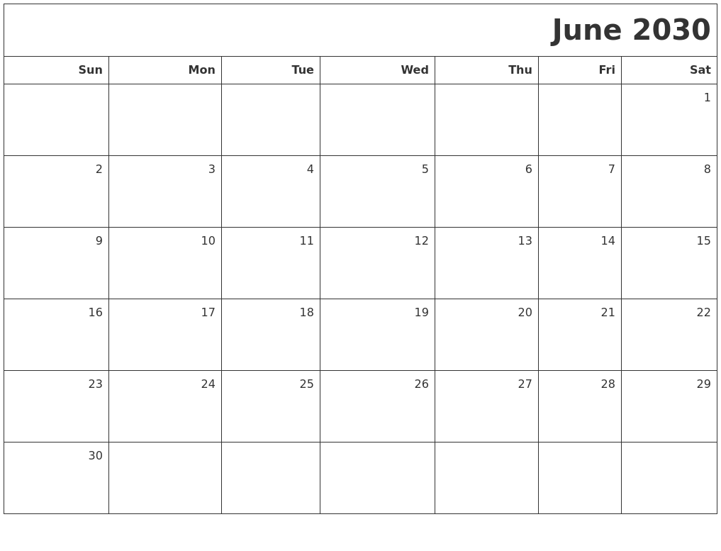 March 2026 Monthly Calendar Printable