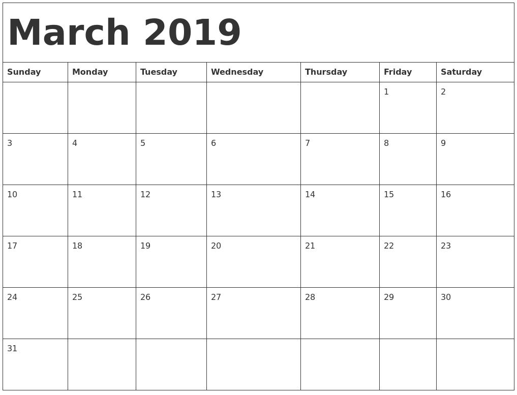 march-2019-calendar-template- ...