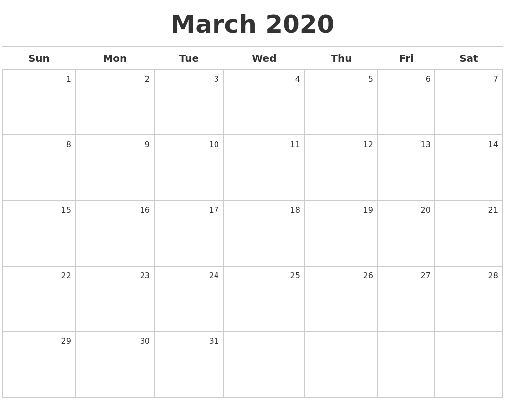 calendar generator free