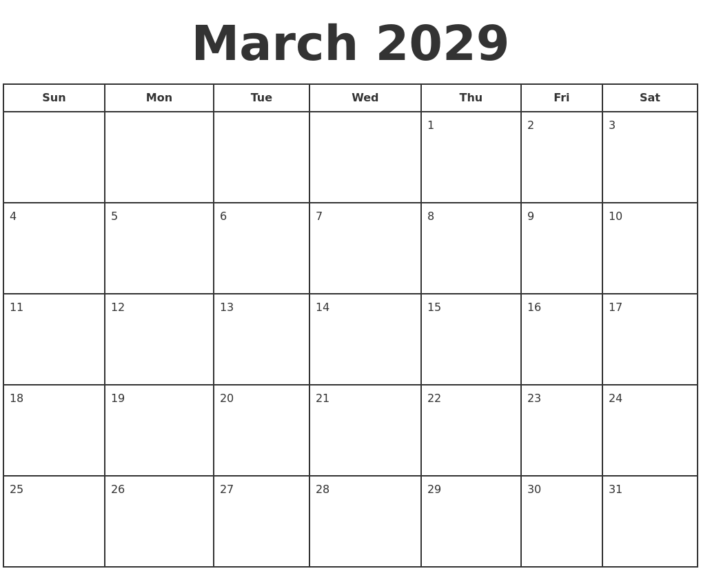March Calendar Zoom : March print a calendar