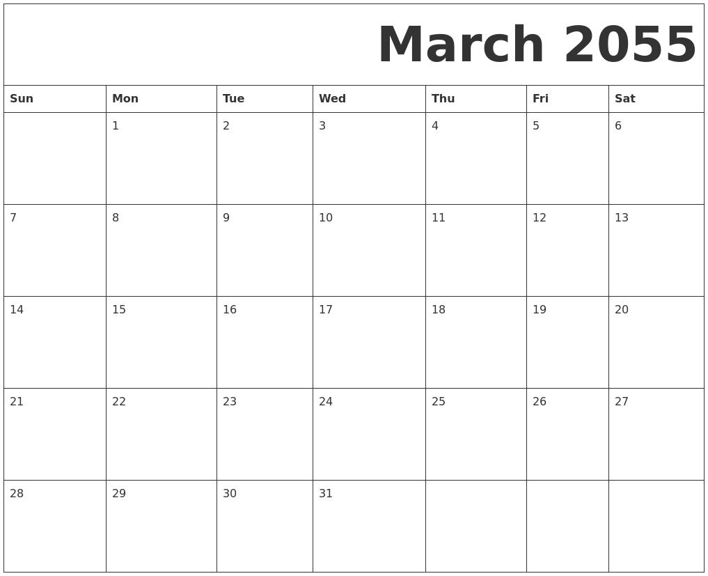 December 2054 Calendar