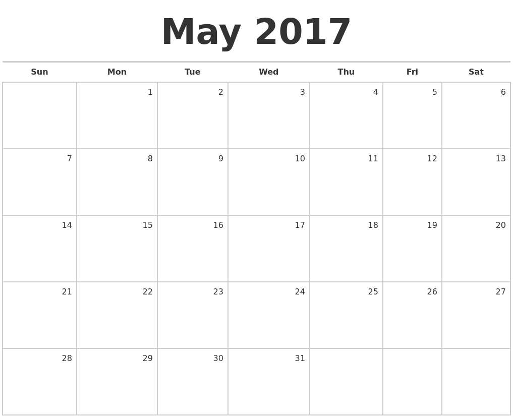 "Calendar Blank May : Search results for ""monthly calendar june and july"