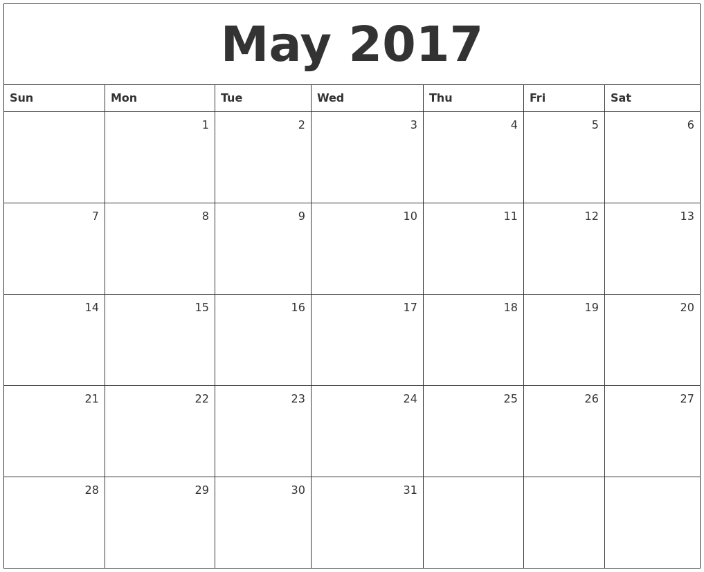 Calendar May To July : May calendars