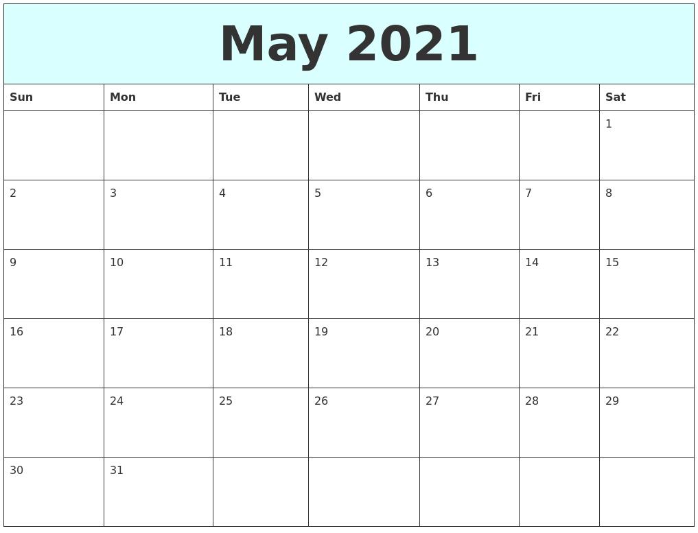 Free Day Calendar Template | Calendar Template 2016