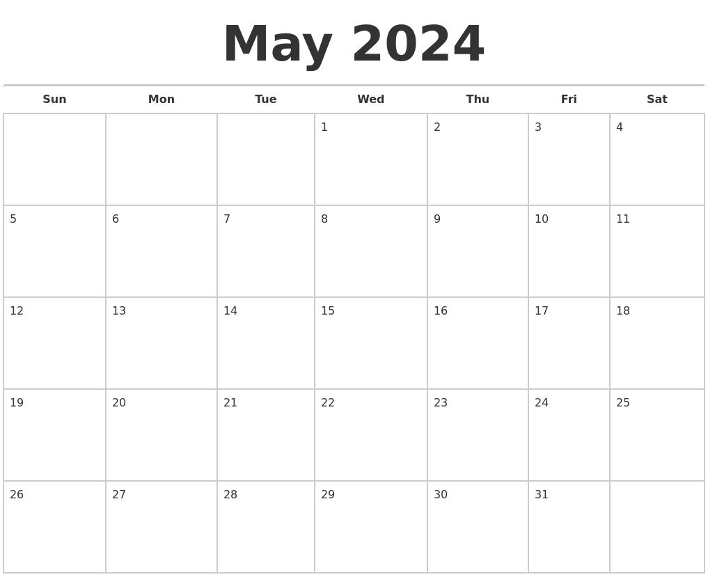 September 2024 Make A Calendar