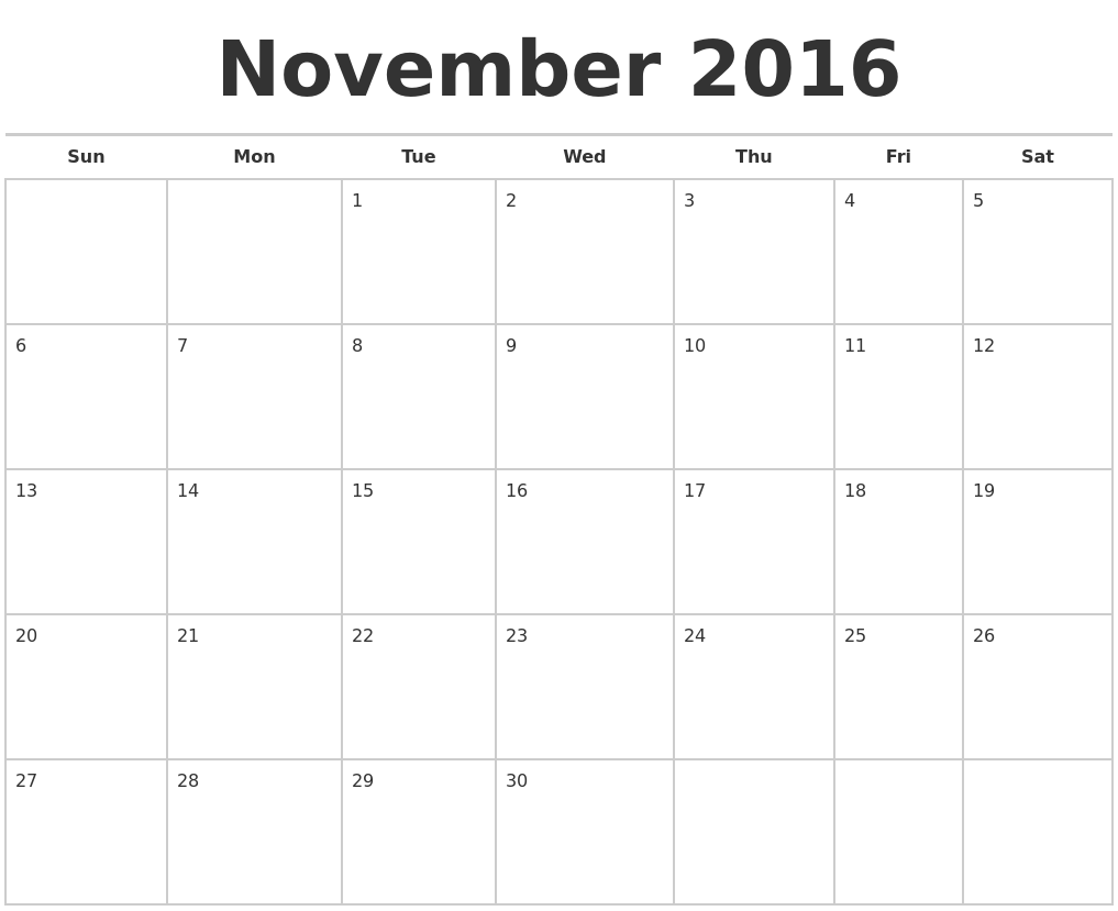 Calendar Planner Maker : April calendar maker