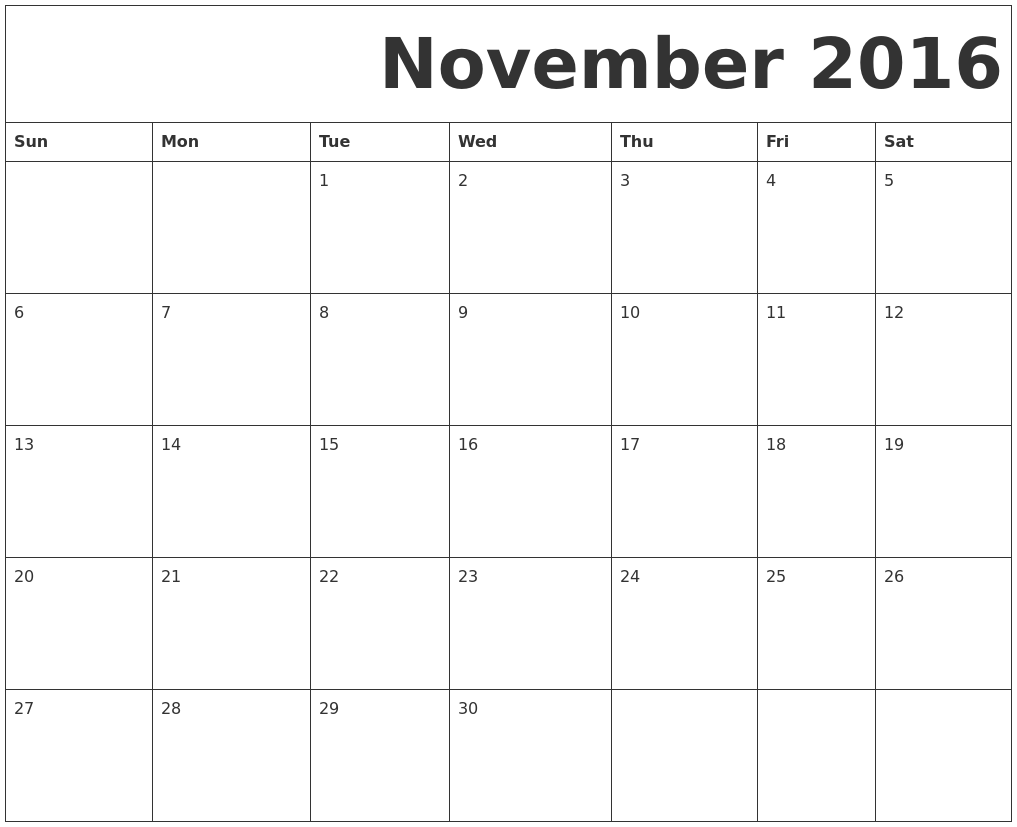 Calendar April Java : November calendars