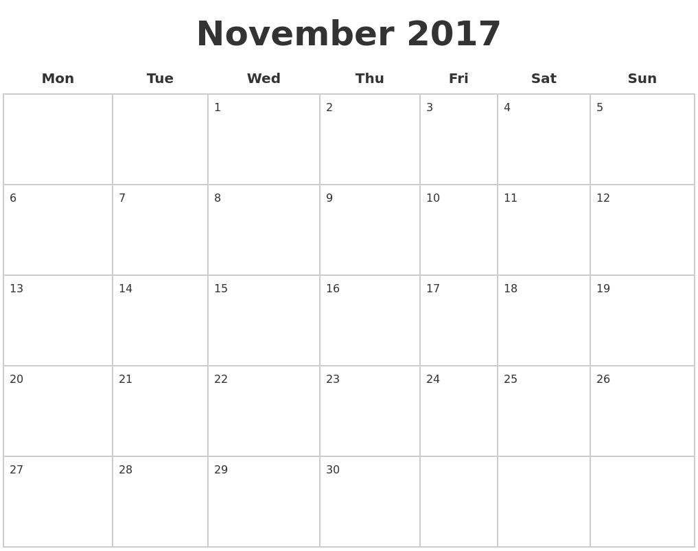 August 2017 calendar   56+ templates of 2017 printable ...