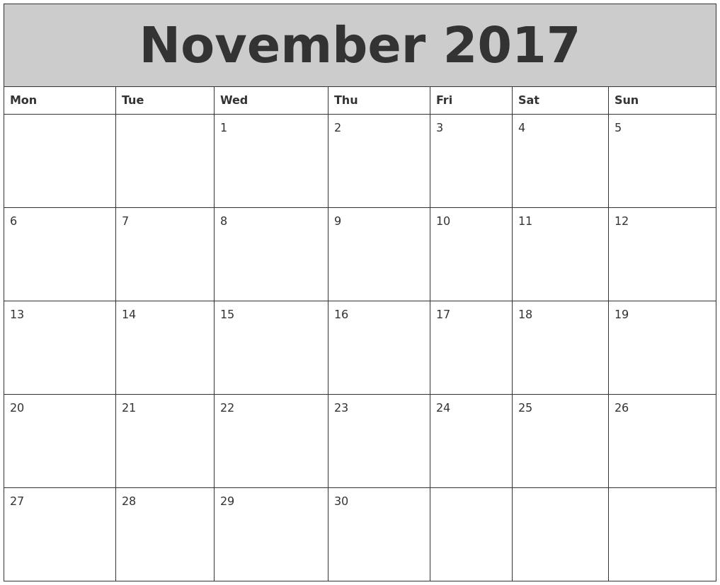 april 2018 printable calendar planner design template week