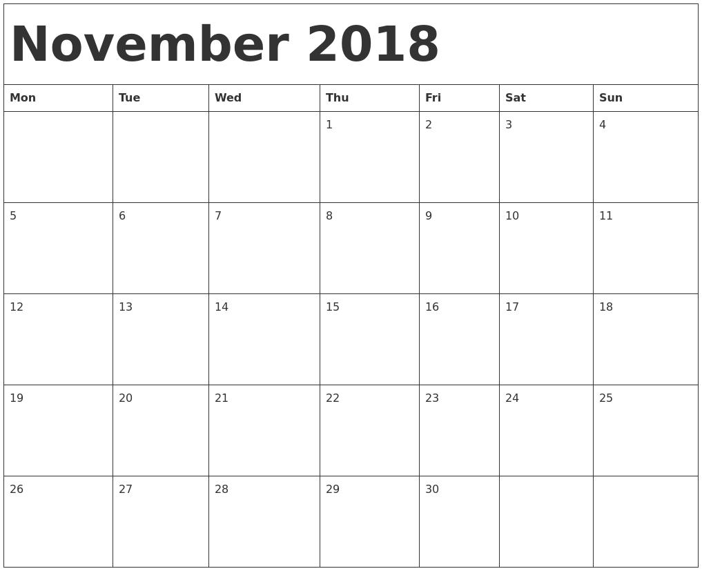 template calendar