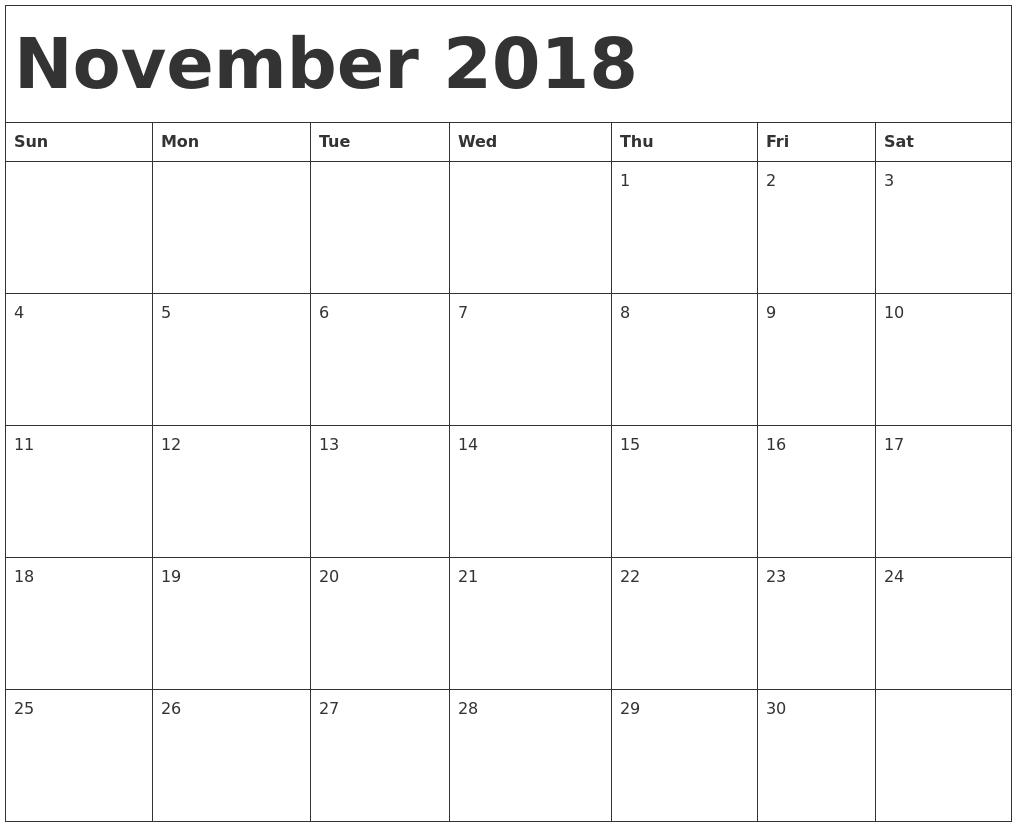 2018 template