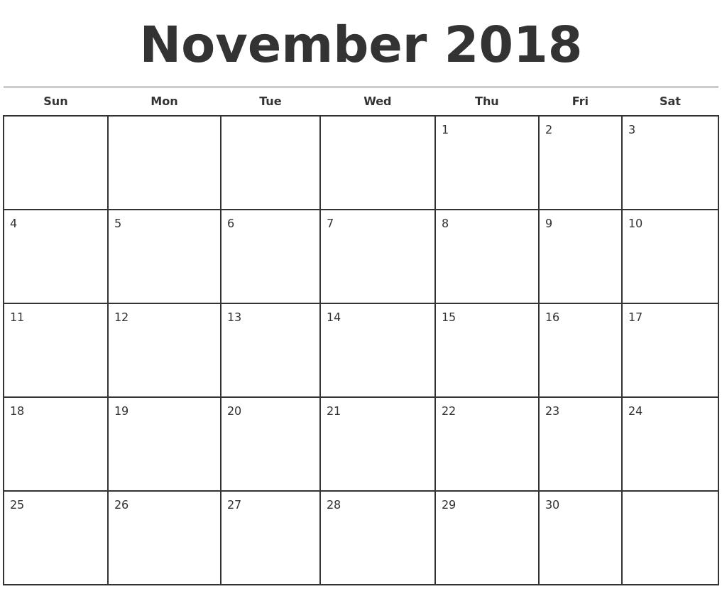 "Free Monthly Calendar November : Search results for ""monthly calendar printable"