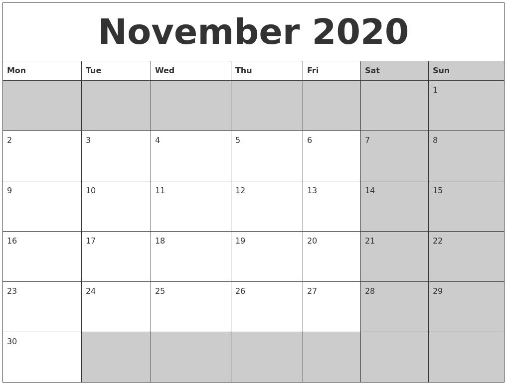 2020 november december september august calanders march calendar printable monday start pdf 2024 calendarzoom