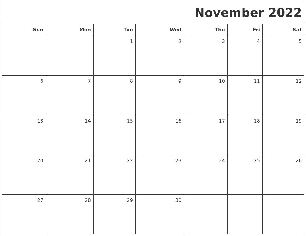 calendar month