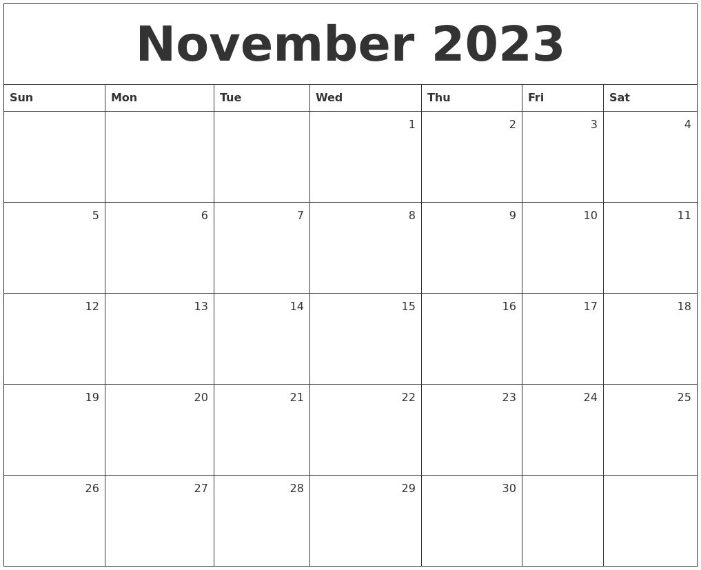 August 2023 Calendar Template