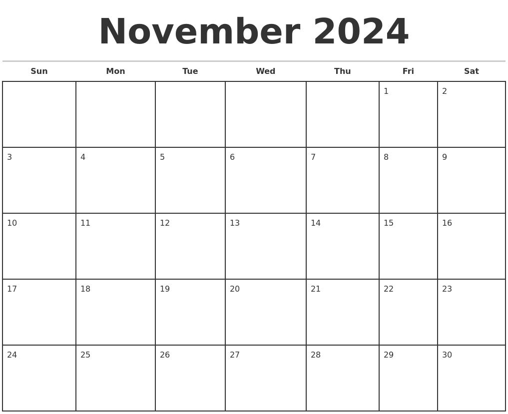 July 2024 Free Calendar Template