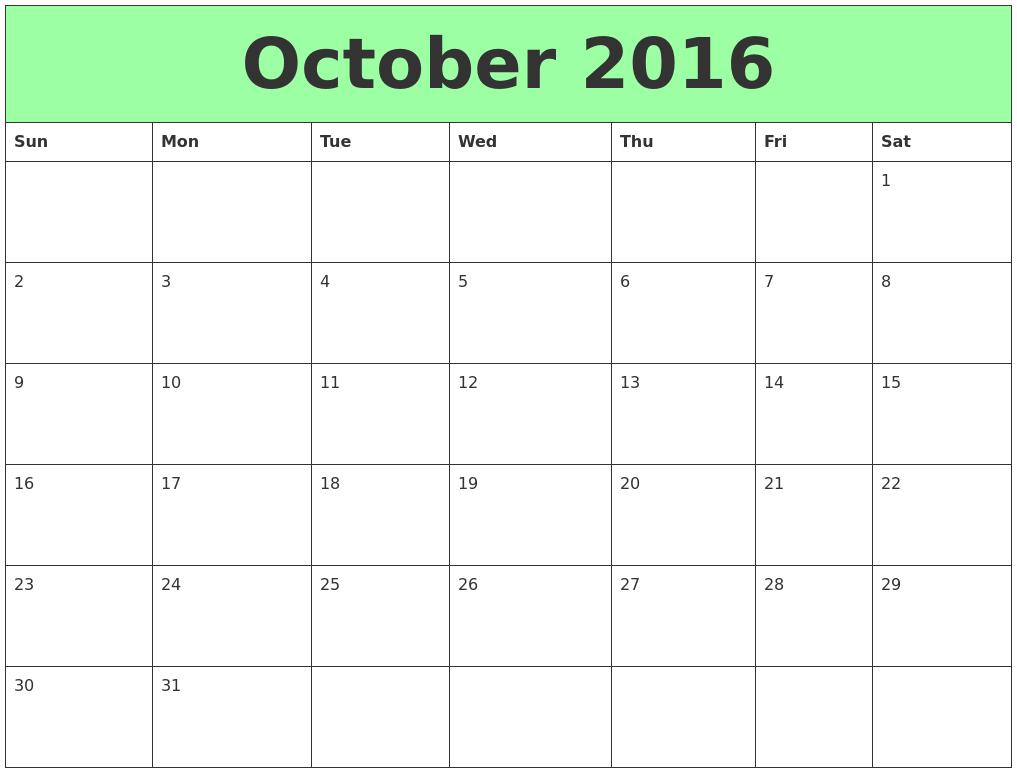 February 2017 Free Calendar Template