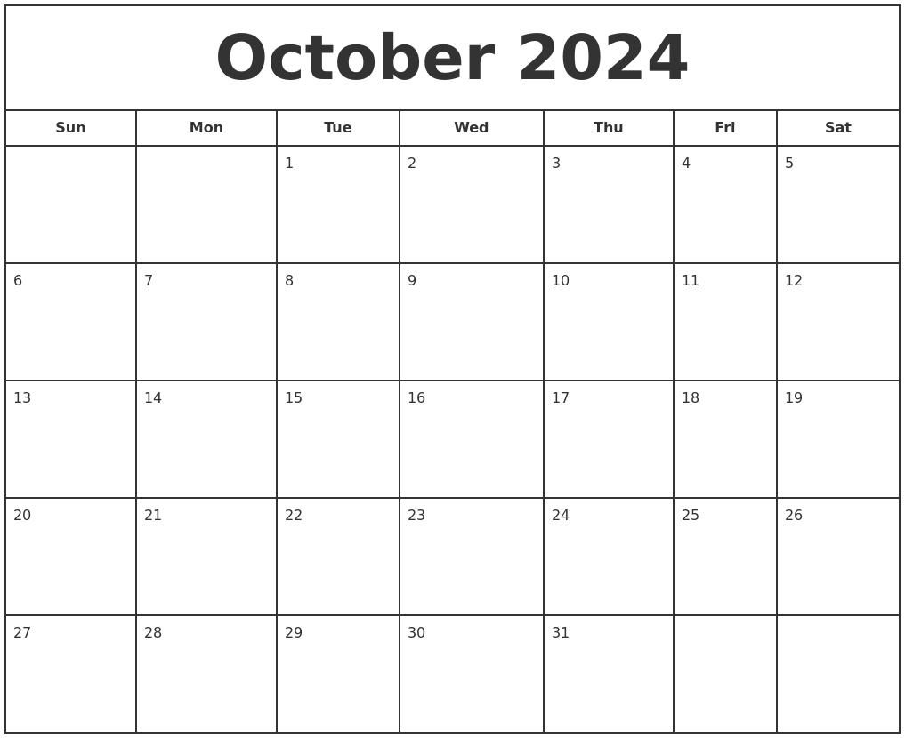 August 2024 Free Calendar Template