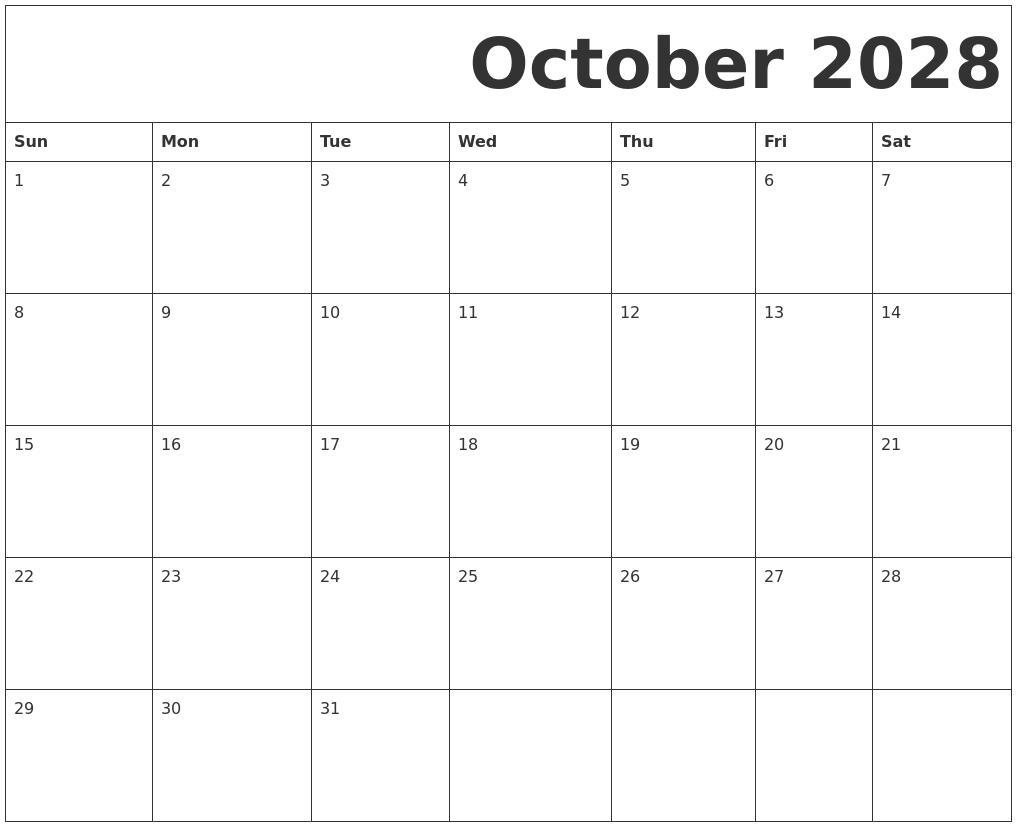 Calendar Typography Zoom : July calendar