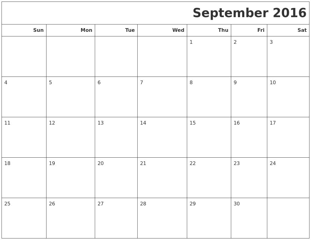 January 2017 Blank Printable Calendar