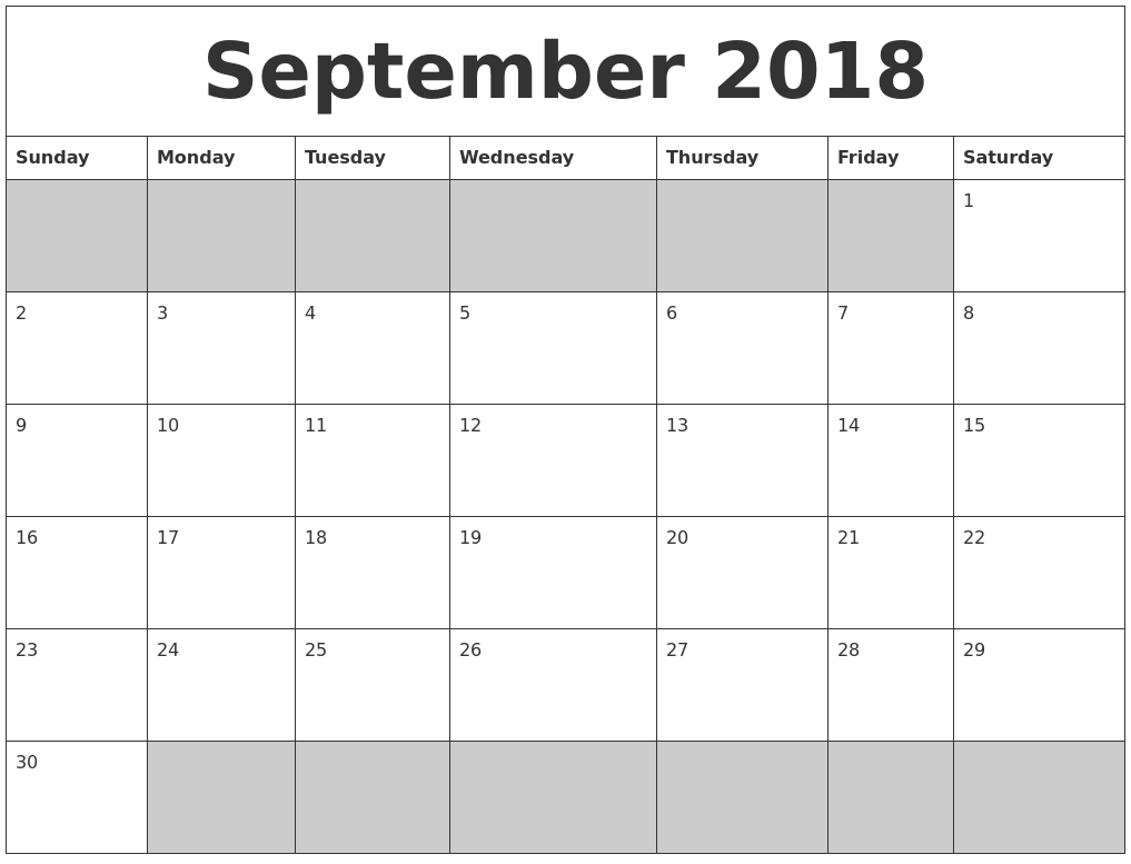 free printable blank monthly calendars 2017 2018 2019 autos post