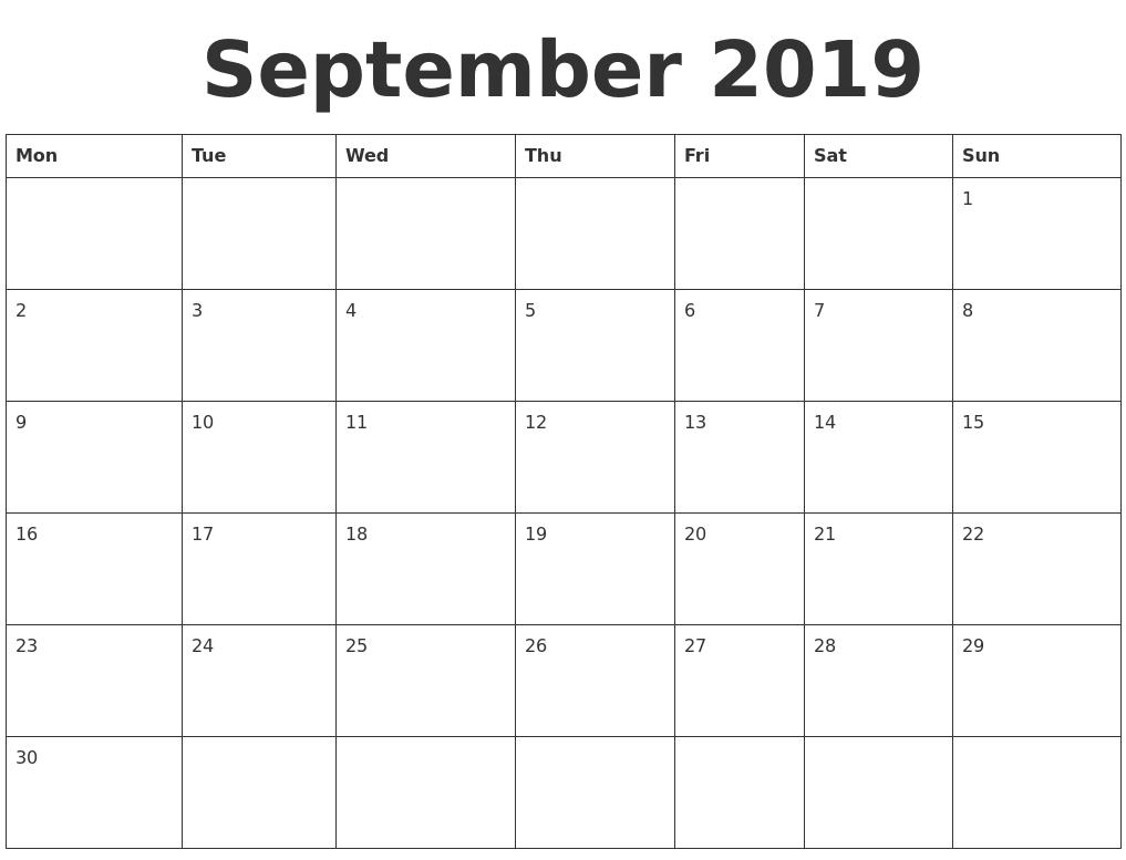 2017 12 month calendar